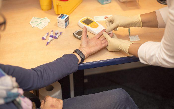 Diabetes- und Asthmaberatung